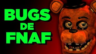 OS MELHORES BUGS DE FNAF || FIVE NIGHTS AT FREDDY