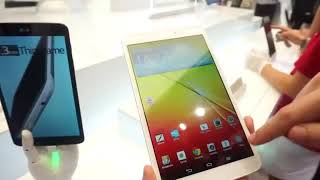 Tablet reviews    LG G Pad 8.3 hands-on demo IFA 2013