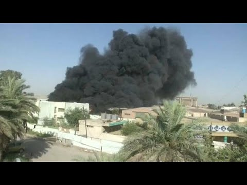 Baghdad's ballot box storage site goes up in smoke