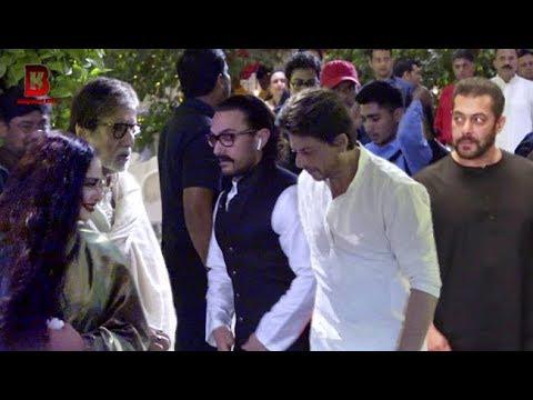 Salman, Shahrukh, Aamir, Amitabh, Rekha Arrives At Mukesh Ambani Visit Ganpati thumbnail
