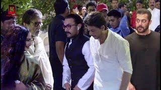 Salman, Shahrukh, Aamir, Amitabh, Rekha Arrives At Mukesh Ambani Visit Ganpati