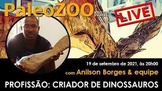 PALEOZOOBR LIVE: PROFISSÃO - CRIADOR DE DINOSSAUROS
