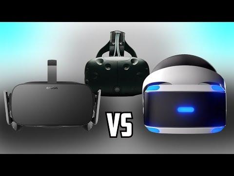 Which VR Headset Should You Get? | (Full Specs Comparison) Oculus Rift vs HTC Vive vs PS VR