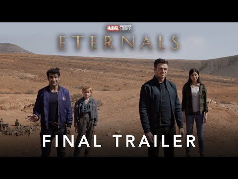 Marvel Studios' Eternals | Official Trailer | Experience It In IMAX®
