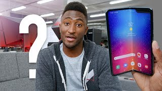 Galaxy Fold vs Huawei Mate X? Ask MKBHD V35!