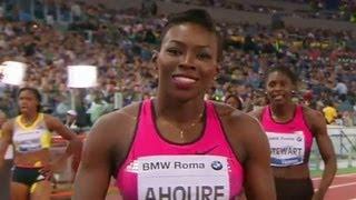 Ahoure defeats Allyson Felix in Rome 200m - Universal Sports