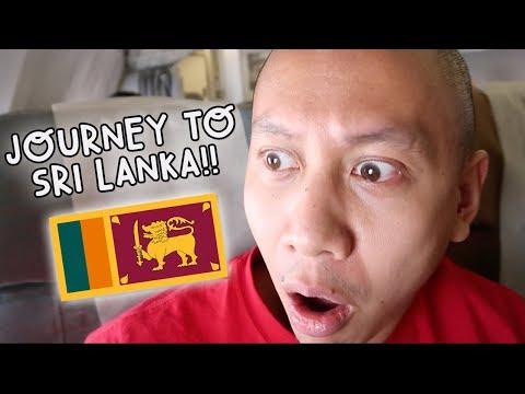JOURNEY TO SRI LANKA - UNBELIEVABLE! | Vlog #95