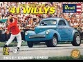 How to Build the SW&C '41 Willys Gasser 1:25 Scale Revell Model Kit #85-1287