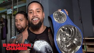 The Usos on rising from the ashes at WWE Elimination Chamber: WWE Exclusive, Feb. 17, 2019