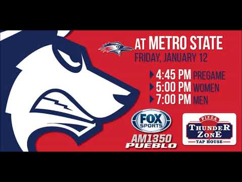 CSU-PUEBLO WOMEN AT METRO STATE 1-12-18