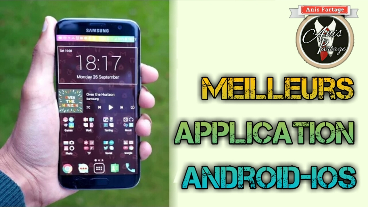 top 5 meilleurs applications android ios 2017 gratuite youtube. Black Bedroom Furniture Sets. Home Design Ideas