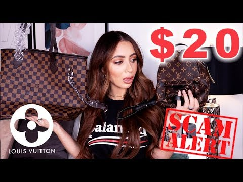 I BOUGHT LOUIS VUITTON BAGS FOR $20 ON IOFFER...OMG