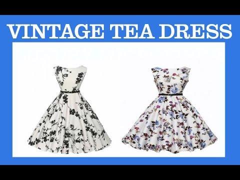 best-selling-highest-rated-sleeveless-vintage-tea-dress-belt-on-amazon-com