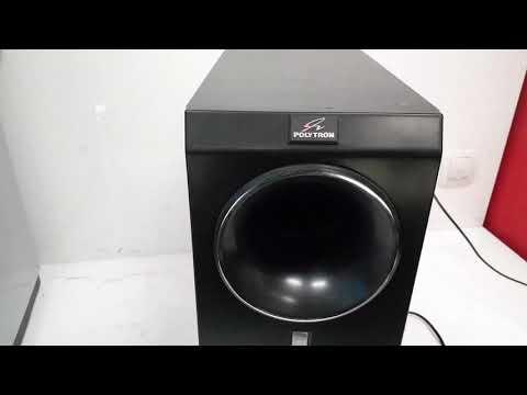 POLYTRON SUBWOOFER PSW 600 X XL 2900 REVIEW!!!!