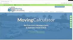Moving Calculator -  Calculate Estimated Move Costs in 1 Minute