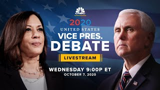 Mike Pence and Kamala Harris face off in the only vice presidential debate - 10/7/2020