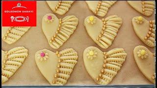 Gelin Kurabiyesi . Pastanelere Rakip Kurabiye Tarifi / Şekline HAYRAN BIRAKAN EFSANE KURABIYE TARIFI