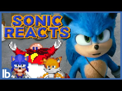 Sonic Reacts To SONIC THE HEDGEHOG (Lowbrow Animation)
