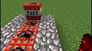відео майнкрафт як зробити гармату з динаміту