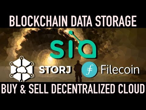 Blockchain Based Decentralized Cloud Storage | Crypto Tech