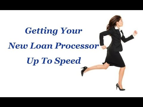 new loan processor training class - Contract Loan Processing