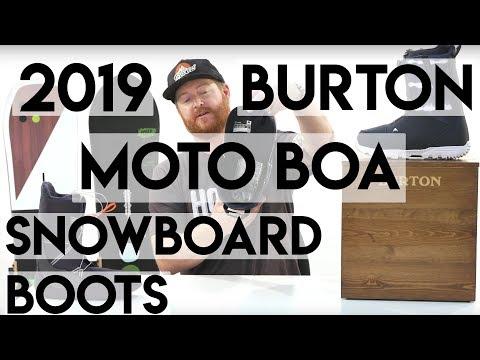 2019 Burton Moto BOA Snowboard Boots Review