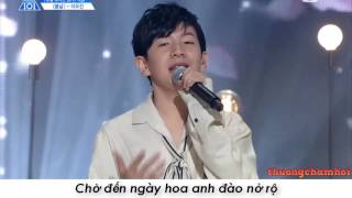 [Vietsub] Produce 101 Season 2 이우진 - 봄날 (Lee Woo Jin focus vocal)