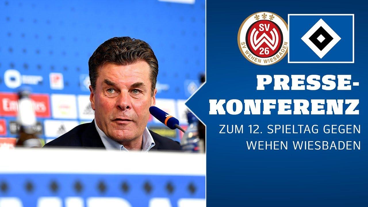 RELIVE: Die Pressekonferenz vor dem Spiel gegen den SV Wehen Wiesbaden