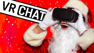 Santa ROASTS Kids on VRCHAT!!! (Holiday Special!)