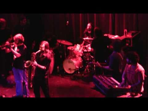 The Budos Band - 4 songs (inc. Adenji & Golden Dunes) 2/25/11 Louisville, KY @ Headliners (2-cam HD)