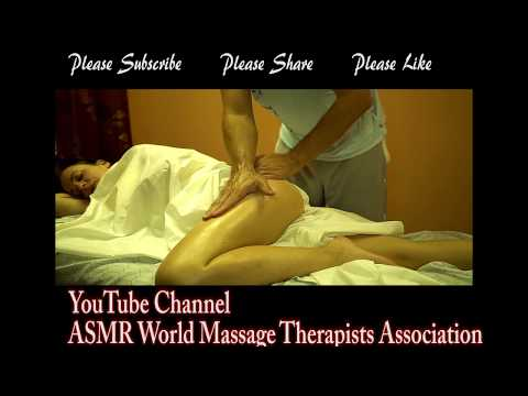 This How You Do Massage On Bursitis! Very Relaxing Massage Asmr!
