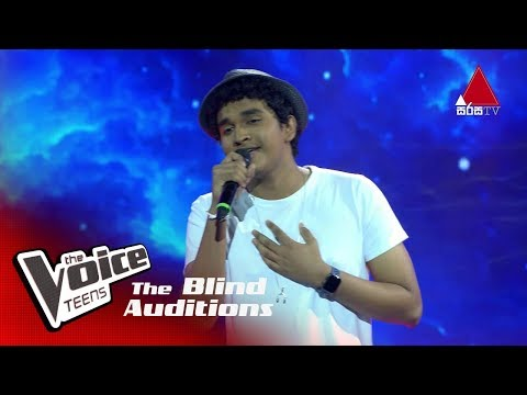 Sandeep Lamasooriya   Perfect   Blind Auditions   The Voice Teens Sri Lanka
