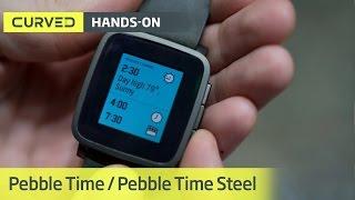 Pebble Time und Time Steel im Hands-On | deutsch | MWC