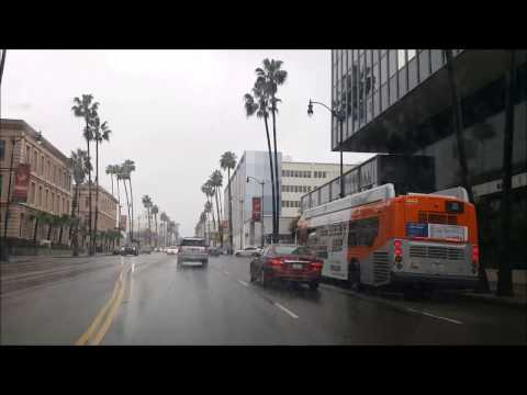Los Angeles Driving Tour: Driving​ to Ocean on America's Ric