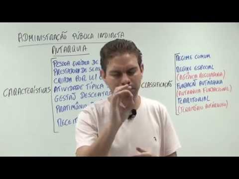 Administração Pública Indireta - Autarquias - Curso de Direito Administrativo