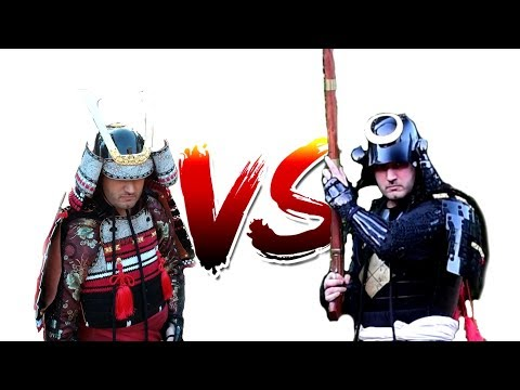Samurai Armor Comparison - 14th Century VS 16th Century