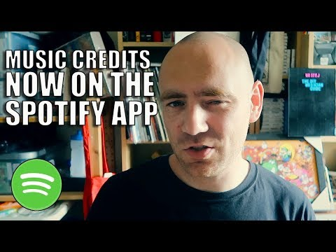 Spotify Credits Songwriter & Producer Credits in Mobile App | The DIY Musician Guide