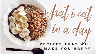 SELF-QUARANTINE RECIPES + GROCERY HAUL | Food that will make you happy