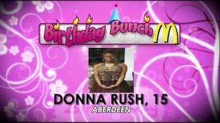 Birthday Bunch- July 26, 2016
