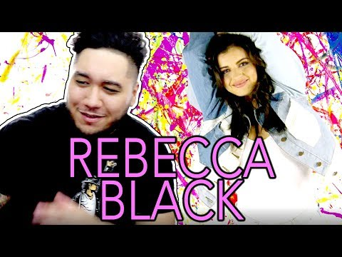 I'M IN REBECCA BLACK'S NEW MUSIC VIDEO!!! 😝🙌 Rebecca Black - Heart Full of Scars REACTION!!!