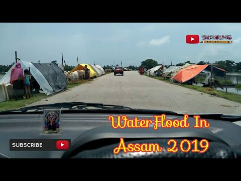 People Are Staying In Roadside During WaterFlood In Bilasipara, Assam 2019