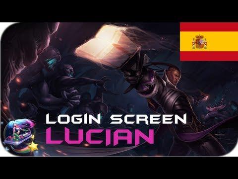 Lucian - Login