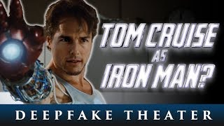 Tom Cruise As Iron Man In The MCU - DeepFake Theater