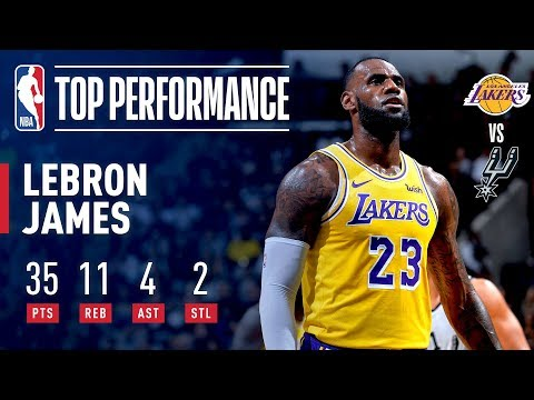 LeBron James Scores 35 & Passes Dirk Nowitzki For Sixth On All-Time Scoring List | October 27, 2018