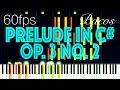 Prelude In C Sharp Minor Op 3 No 2 RACHMANINOFF mp3