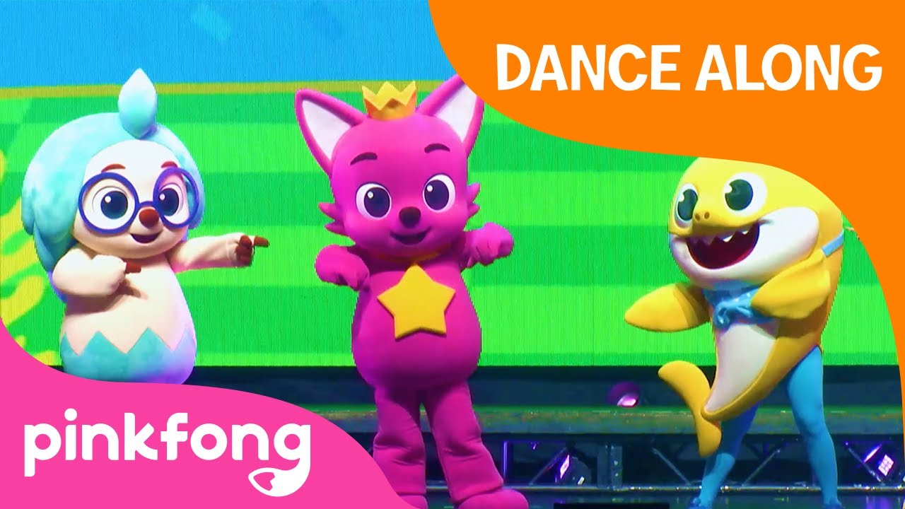 Dance Tutorial: Let's Sing with Joy | Pinkfong Baby Shark LIVE | Pinkfong Songs for Children