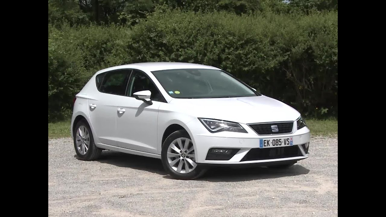 essai seat leon 1 6 tdi 115 dsg style 2017 youtube. Black Bedroom Furniture Sets. Home Design Ideas