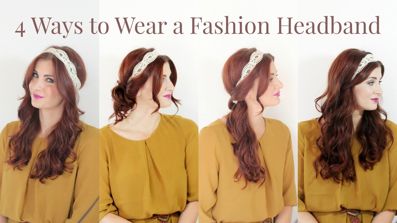 How to thick wear headbands new photo