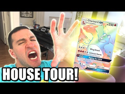 HYPER RARE CHARIZARD WHERE YOU AT?! - HOUSE TOUR!