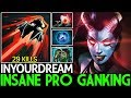 Inyourdream Queen Of Pain Insane Pro Ganking Super Mid 29 Kills 7 24 Dota 2 Ngekek(.mp3 .mp4) Mp3 - Mp4 Download